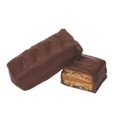 Creamy peanut butter sandwiched between 2 graham crackers and covered in creamy milk chocolate.