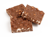 A delightful combination of milk chocolate, peanut butter, marshmallows and walnuts.