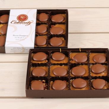 Milk Chocolate Pecan Snappers Gift Box