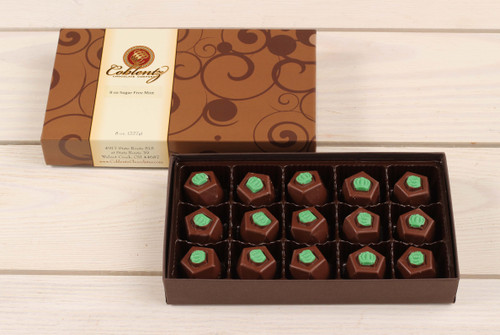 Sugar Free Mint Truffle 1/2 lb. Gift Box