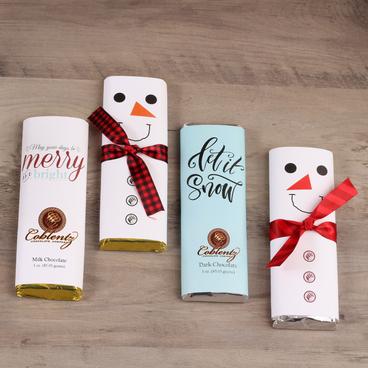 Holiday Chocolate Bars