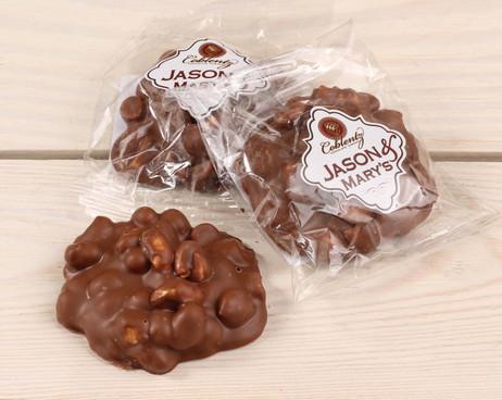 Jason & Mary's Oversized Treats-Milk Chocolate Peanut Clusters x3