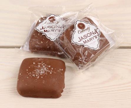 Jason & Mary's Oversized Treats-Milk Chocolate Sea Salt Caramels x3