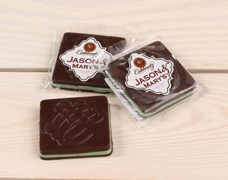 Jason & Mary's Oversized Treats-Dark Chocolate Mint Square x3