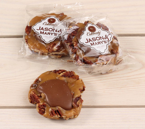 Jason & Mary's Oversized Treats-Milk Chocolate Pecan Snappers x3