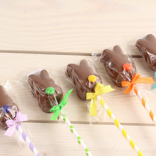 Chocolate Bunny Peeps set of 5