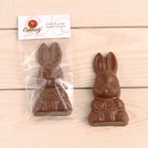 Milk or Dark Chocolate Bunny-6 oz.