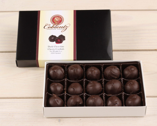 Dark Chocolate Cherry Cordials