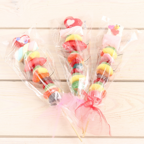 Valentine's Day Gummy Kabob