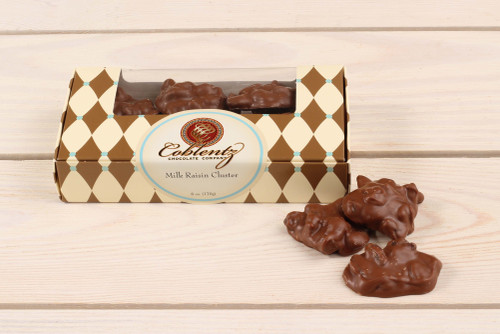 Milk Chocolate Raisin Clusters 6 oz.