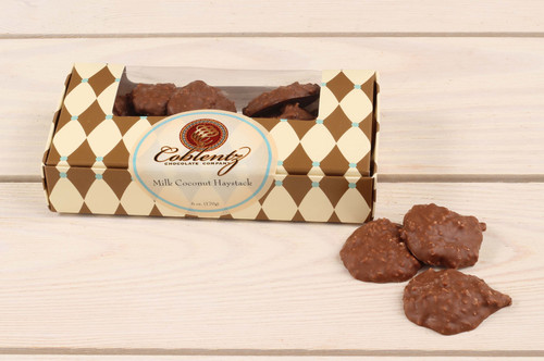 Milk Chocolate Coconut Haystack Clusters 6 oz.