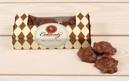 Milk Chocolate Cashew Clusters
