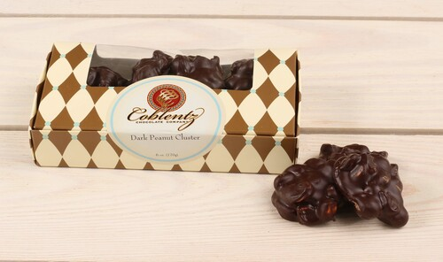 Dark Chocolate Pecan Clusters