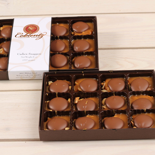 Milk Chocolate Cashew Snapper Gift Box