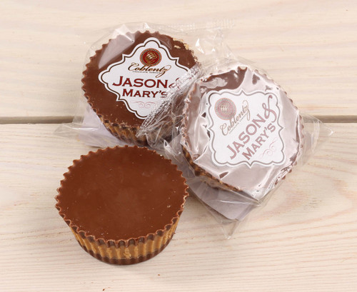 Jason & Mary's Oversized Treats-Milk Chocolate Peanut Butter Cups x3