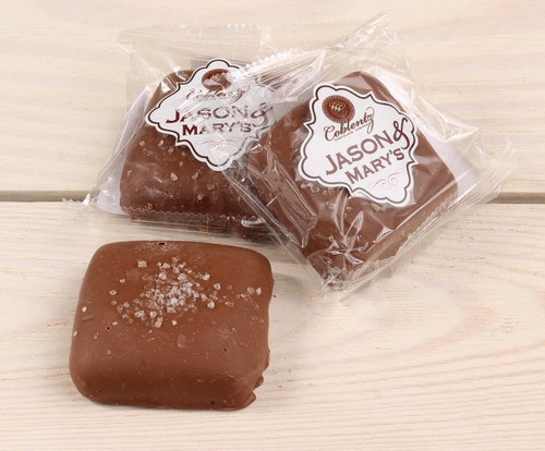 Jason & Mary's Oversized Treats-Milk Chocolate Sea Salt Caramels