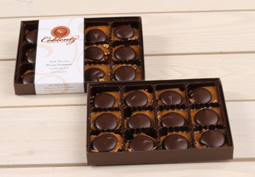 Dark Chocolate Pecan Snapper Gift Box