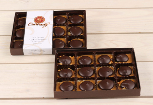Dark Chocolate Cashew Snappers Gift Box