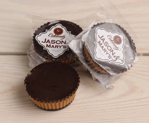 Jason & Mary's Oversized Treats-Dark Chocolate Peanut Butter Cups x3