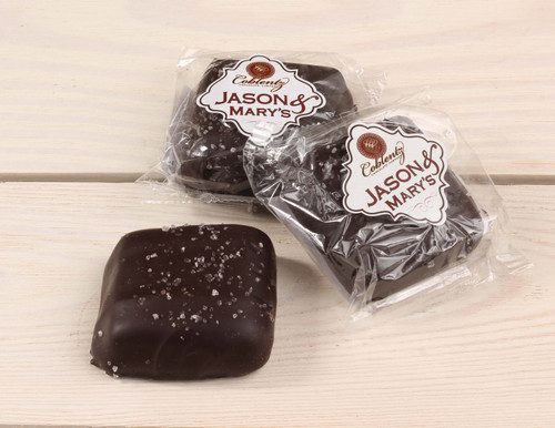 Jason & Mary's Oversized Treats-Dark Chocolate Sea Salt Caramels x3