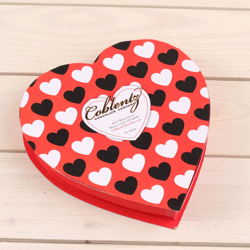 1 lb. Deluxe Assortment Valentine's Heart