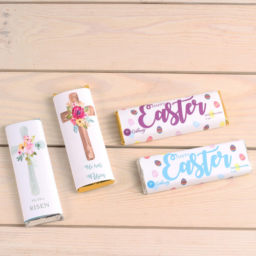Easter Candy Bar-Solid Milk or Dark Chocolate