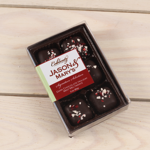Dark Holiday Mints-Jason & Mary's Petite Gift Box