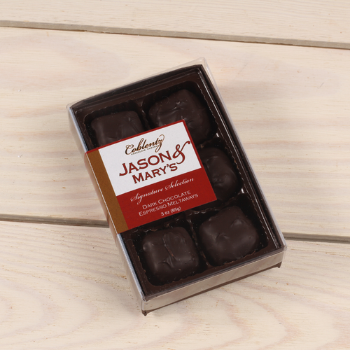 Dark Espresso Meltaways-Jason & Mary's Petite Gift Box