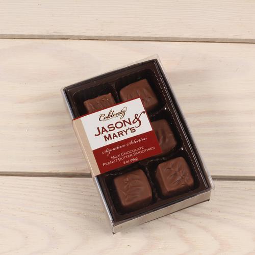 Milk Peanut Butter Smoothies-Jason & Mary's Petite Gift Box