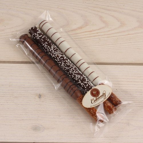 Pretzel Rod Trio | Coblentz Chocolate Company