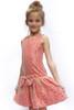 Sample Sale Crimson & Gold Lace Drop-Waist Dress