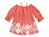 Sophie Catalou Girls Toddler & Kids Bandana Red Kara Dress 2-8y
