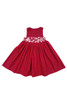 Sophie Catalou Girls Toddler & Kids Red Plaid Embroidered Dress 12m-9/10y