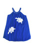 Sample Sale Cornflower Voile Embroidery Flare Dress