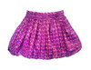 Sample Sale Purple Dot Bubble Skirt