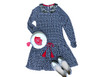 Sophie Catalou Girls Toddler & Kids Julie Printed Knit Dress 2-8y