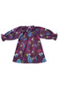 Sophie Catalou Girls Toddler & Kids Purple Teresa Raglan Dress 18m-10y