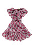 Sophie Catalou Girls Toddler & Kids Wine Faux Wrap Dress 3-12y