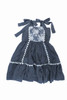 Sophie Catalou Girls Toddler & Kids Blue Lace Tara Dress  2-10y