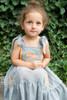 Sophie Catalou Girls Toddler & Kids Mint Embroidered Tara Dress  2-10y