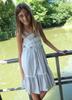 Sophie Catalou Girls Toddler & Kids Gray Tara Dress  2-10y
