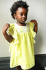 Sophie Catalou Girls Toddler & Kids Lemon Lace Kate Dress  2-10y