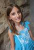 Sophie Catalou Girls Toddler & Kids Turquoise Lace Tara Dress  2-10y