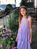 Sophie Catalou Girls Toddler & Kids Purple Lace Tara Dress  2-10y