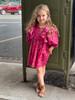 SOPHIE CATALOU FUCHSIA FOLLIE DRESS
