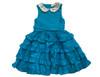 Sophie Catalou Girls Infant Toddler & Kids Teal Marfa Dress 18m-6