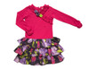 Sophie Catalou Girls Infant Toddler & Kids Raspberry / Violet Drop-Waist Dress