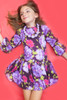 Sophie Catalou Girls Toddler & Kids Milena Natalia Dress 5-6y