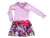 Sophie Catalou Girls Toddler & Kids Lavender Milena Drop-waist Dress 2-6y