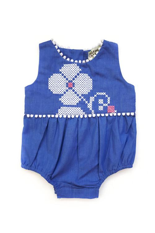 Sophie Catalou Girls Infant Asia Baby Bubble 3m